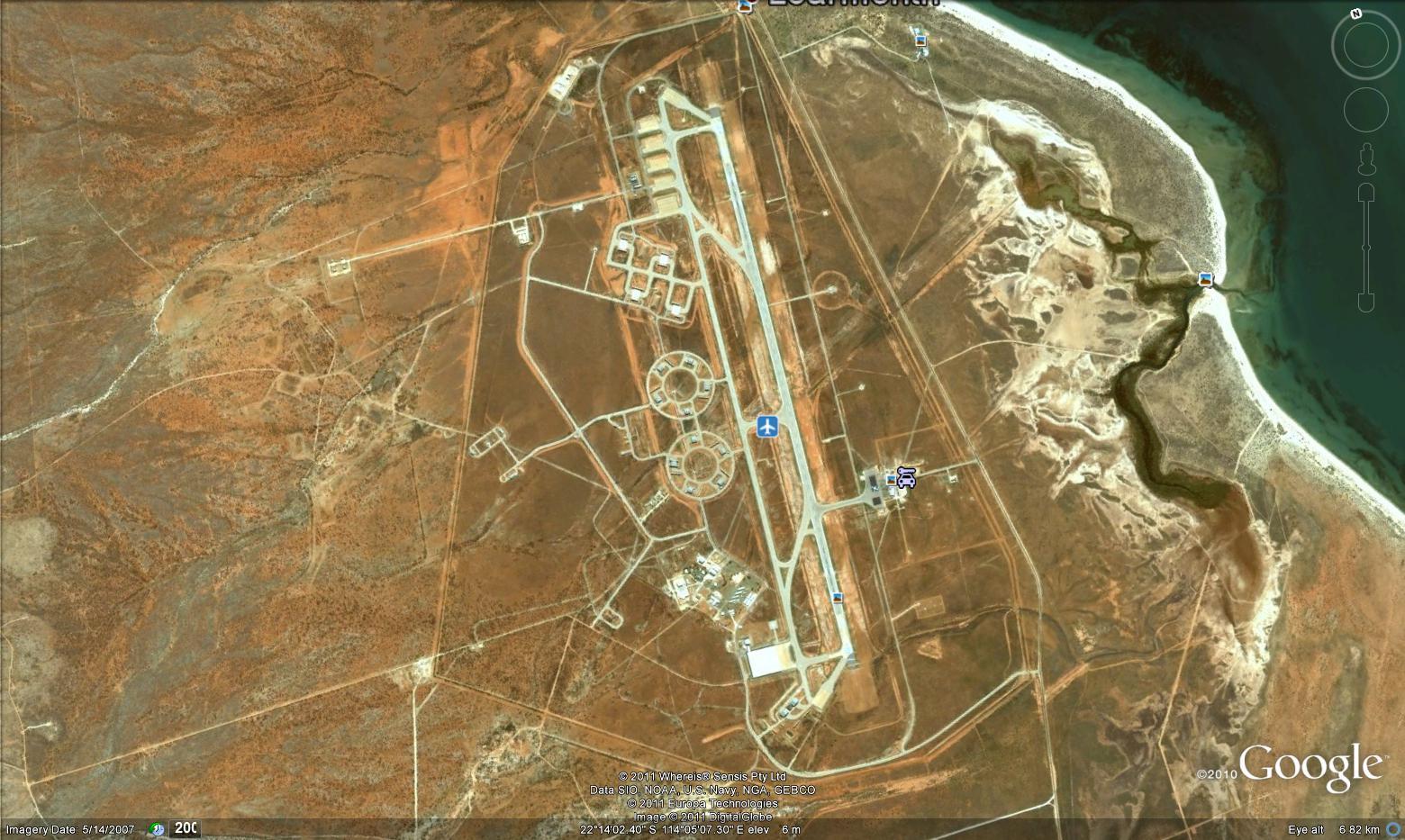Airport south of HARRP Australia