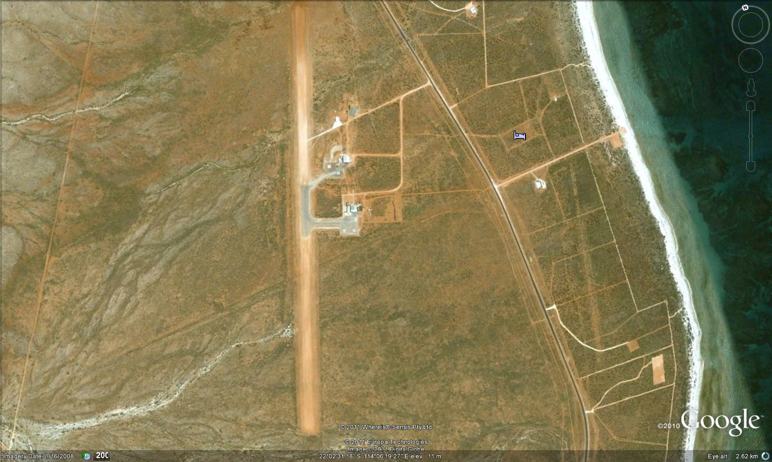 Run Way south of HARRP Australia